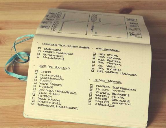 Bullet journal de Journaling addict